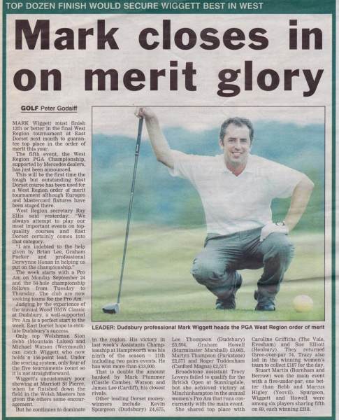 1- Daily Echo Wed 15th August 2001